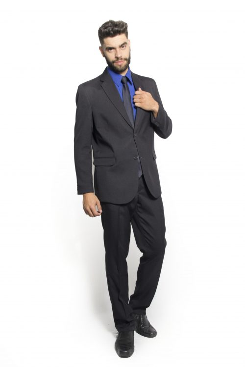 traje social masculino